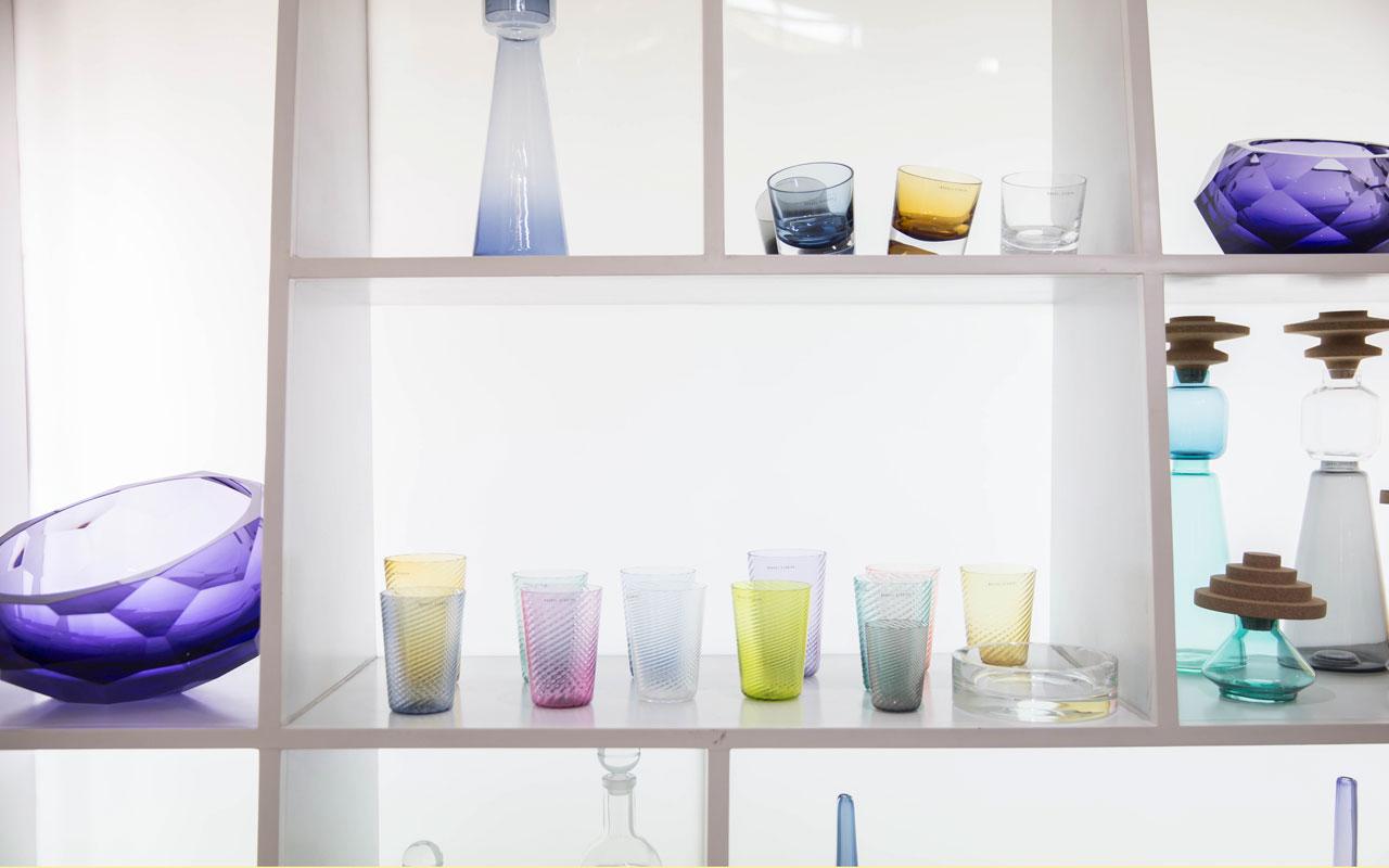 Nouvel Studio: arte en forma de vidrio